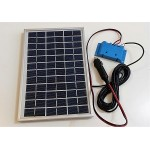 Solar Battery Charger 5W,12V - 0,3A with Charge Regulator and Cigarette Lighter Connector