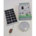 Solar Lighting Fixture with 18 LED