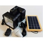 Solar Flash Light  Double with USB outlet