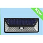 Solar Wall Light 73 LED with Motion Sensor