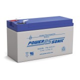 Battery 12V - 7Ah, POWERSONIC