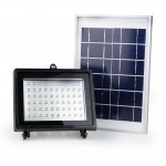 Solar Flood Light 60 LED with remote controller