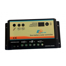 Charge Controller Epsolar DUO, 10A, 12/24V  for 2 Batteries