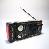 Solar Radio, Torch & Warning Light