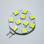 Lamp LED G4 Side Pin 2 W 12V, Cool White Color