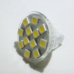 Lamp LED MR11 SPOT 2W 12V, Cool  White Color