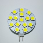 Lamp LED G4 Side  Pin 2,4 W 12V, Cool White Color