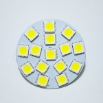 Lamp LED G4 Back  Pin 2,4 W 12V, Cool White Color