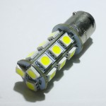 LED BA15S - 12V 18 smd Cool White Color