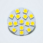 Lamp LED G4 Back  Pin 2,4 W 12V, Warm White Color