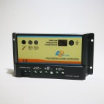 Charge Controller Epsolar 20A 12/24V PWM for 2 Batteries