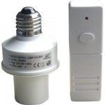 Infrared Sensor with Remote Control, 230V AC - E27